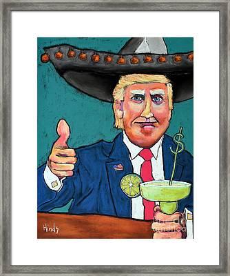 Trump Framed Print by David Hinds