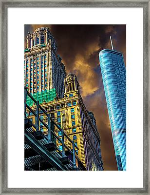 Trump Tower And The Jewelers Building Dsc4446 Framed Print
