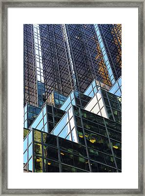 Framed Print featuring the photograph Trump Tower by Mitch Cat
