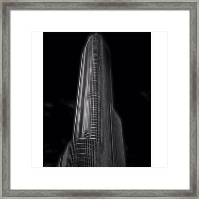 #trump #trumptower #trumpchicago Framed Print