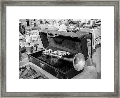 Trumpet For Sale Framed Print