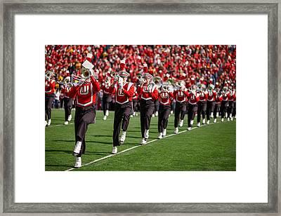 Trumpet Line Framed Print by Todd Klassy