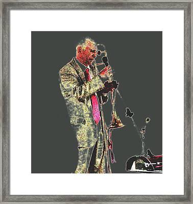 Trumpeter  Framed Print by Yury Bashkin