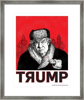 Trumpski Framed Print by Thomas Seltzer