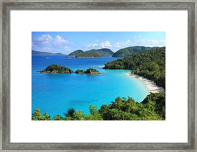 Trunk Bay St. John Framed Print