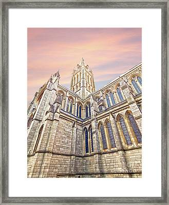 Truro Cathedral Framed Print by Terri Waters
