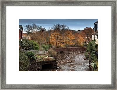 Framed Print featuring the photograph Truro River by Brian Roscorla