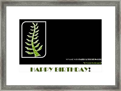 Trust In God Framed Print