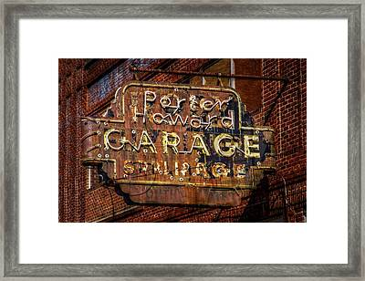 Trust In Rust Framed Print by Linda Unger
