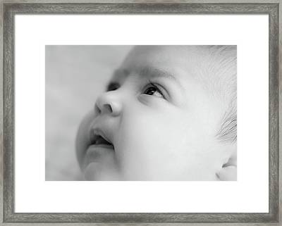 Trust Of A Child Framed Print