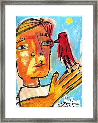 Trust Framed Print by Robert Wolverton Jr