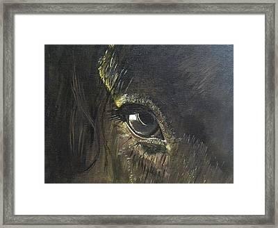 Trusting Eye Framed Print