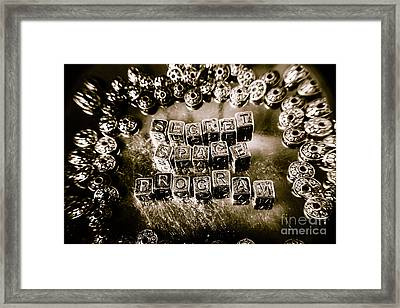 Truth Is Stranger Than Fiction Framed Print