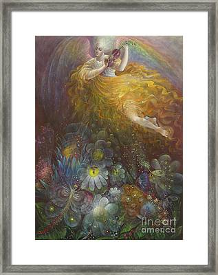 Truth Shall Spring Out Of The Earth And Righteousness Shall Look Down From Heaven Framed Print by Annael Anelia Pavlova