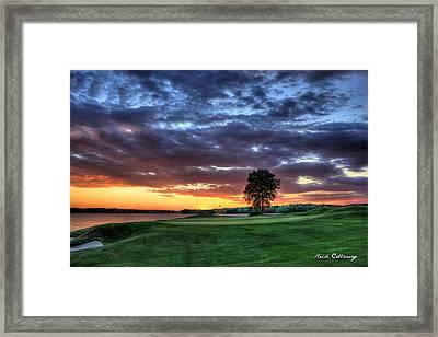 Try Me The Landing Framed Print by Reid Callaway