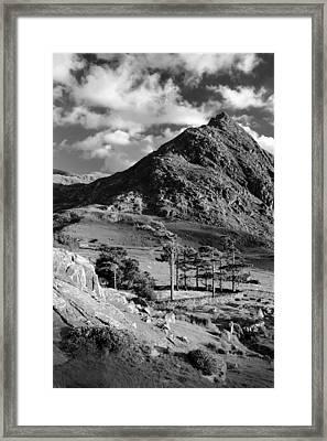 Tryfan And Ogwen Valley Framed Print