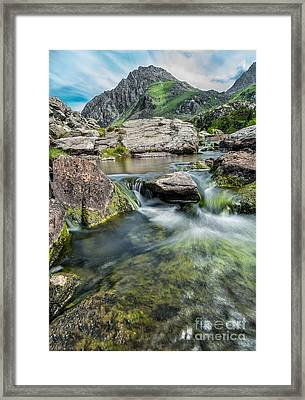 Tryfan In The Ogwen Valley Framed Print