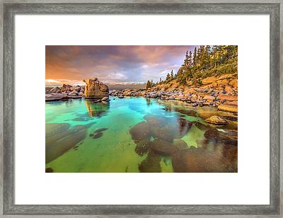 Trying To Forget Framed Print by Steve Baranek