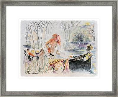 Tryst Framed Print by Barbara Chase