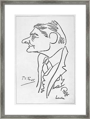 T.s. Eliot (1888-1965) Framed Print