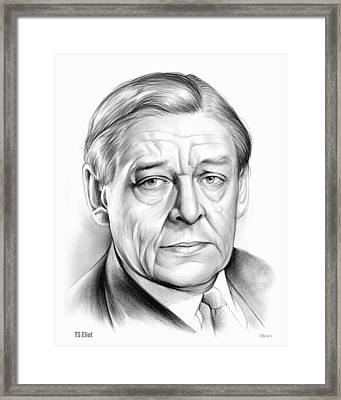 Ts Eliot Framed Print
