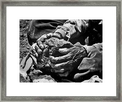Tsa Tsa Hands Framed Print