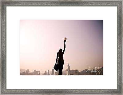 Tsim Sha Tsui K Framed Print