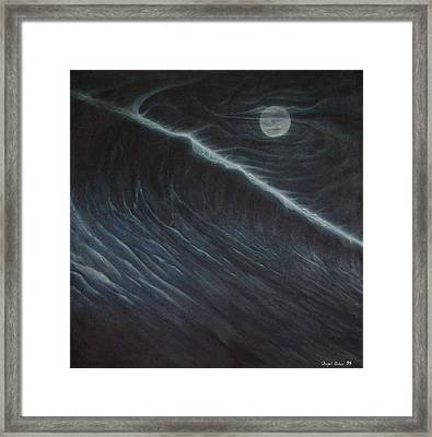 Tsunami Framed Print by Angel Ortiz