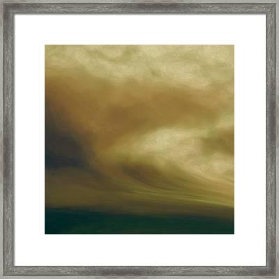 Tsunami Framed Print by Lonnie Christopher