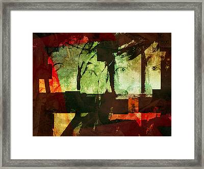 Reality, Illusion, And Perception Framed Print