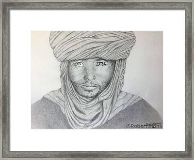 Tuareg Beduin Framed Print
