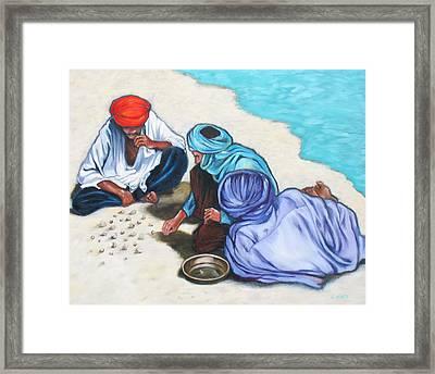 Tuaregs Framed Print by Lorraine Klotz