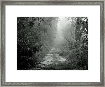 Tuatha De Danann Road Framed Print