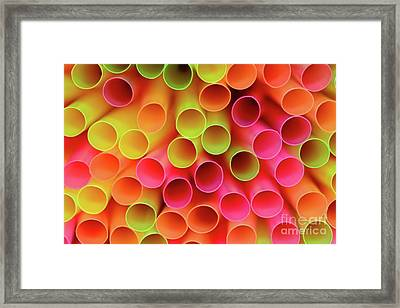 Framed Print featuring the photograph Tubed By Kaye Menner by Kaye Menner