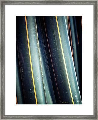 Tubes Framed Print by Wim Lanclus