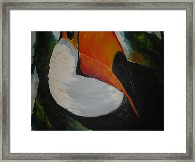 Tuca Framed Print by Ana Picolini