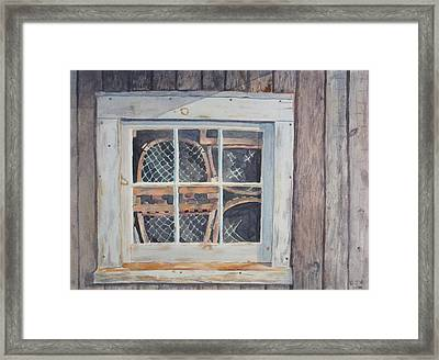 Tucked Away Framed Print by Debbie Homewood