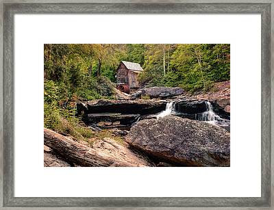 Tucked Away - Historic Old Mill Photography Framed Print by Gregory Ballos