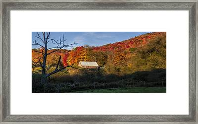 Framed Print featuring the photograph Tucked Away by Mark Papke