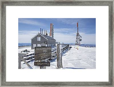Tuckerman Ravine Trail - Mt Washington New Hampshire Framed Print by Erin Paul Donovan