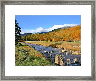 Tuckerman's Ravine Framed Print
