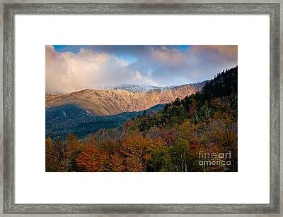 Tuckermans Ravine In Autumn Framed Print