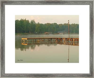 Tuckers Cove Two Framed Print
