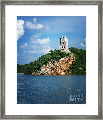 Tucker's Tower Gentle Summer Day Framed Print by Tamyra Ayles