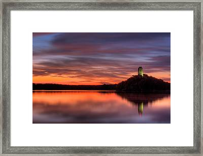 Tuckers Tower Sunrise Framed Print