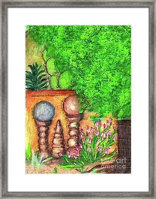 Tucson Garden Framed Print