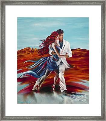 Tucson Tango Framed Print by Summer Celeste