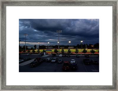 Tuesday Night Soccer Framed Print