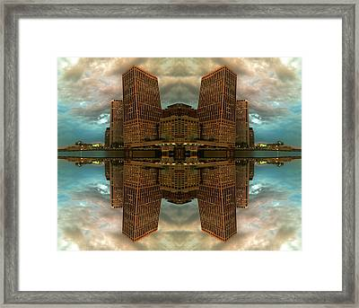 Framed Print featuring the photograph Tuesday's Skies by Karni Dorell