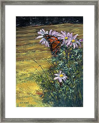 Tuft Of Flowers Framed Print